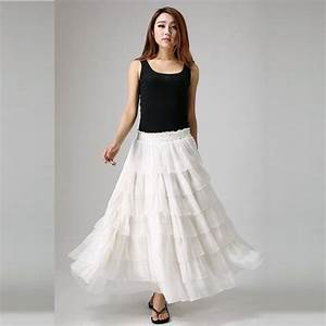 Varieties of long skirts for women