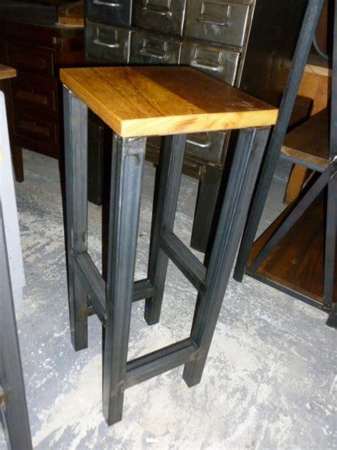 chaise industrielle fauteuil industriel tabouret industriel brocantetendance