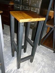 Tabouret Style Industriel : chaise industrielle fauteuil industriel tabouret industriel brocantetendance ~ Teatrodelosmanantiales.com Idées de Décoration