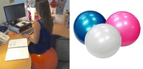 chaise de bureau ballon exit votre chaise de travail adoptez un ballon