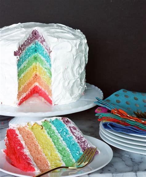 good eats   eat rainbow cake  sweet escape