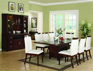Dining room paint color with green color ideas home for Green dining room color ideas