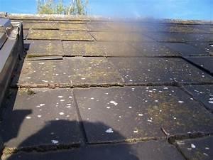 Nettoyer Dalle Terrasse : nettoyer la mousse de la terrasse des tuiles des ardoises ~ Dallasstarsshop.com Idées de Décoration