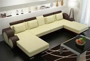 Garnitur U Form : lederecksofa ledereckcouch sofa garnitur xxl liegeledersofa berlin u form couch ebay ~ Indierocktalk.com Haus und Dekorationen