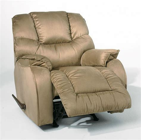 recliner chair and a half in light brown picture decofurnish