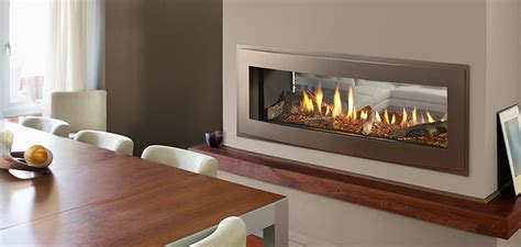 see through gas fireplace heatilator crave see through series gas fireplace
