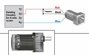 Electrical Wiring Diagram For Gearmotors : application notes bodine electric company ~ A.2002-acura-tl-radio.info Haus und Dekorationen