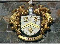 How Trump's coat of arms landed him in trouble for