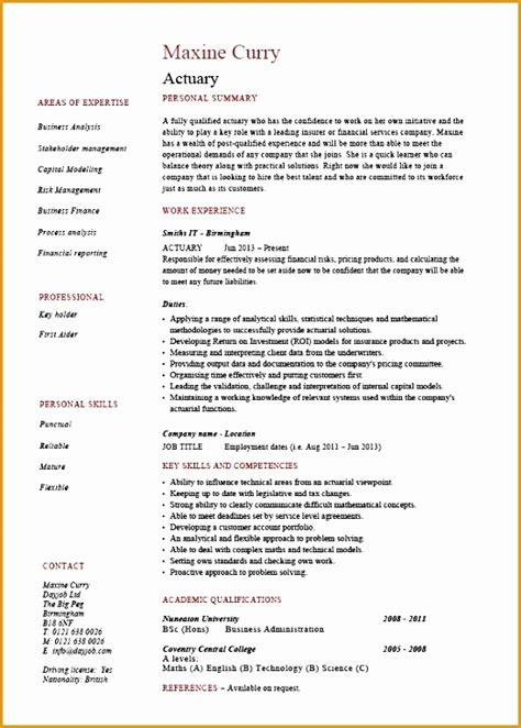 What Is The Origin Of The Word Resume by 5 Resume Cover Letter Template Word Free Sles Exles Format Resume Curruculum Vitae
