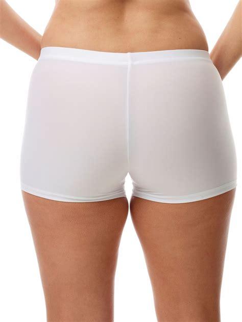 womens microfiber compression boy shorts underworks