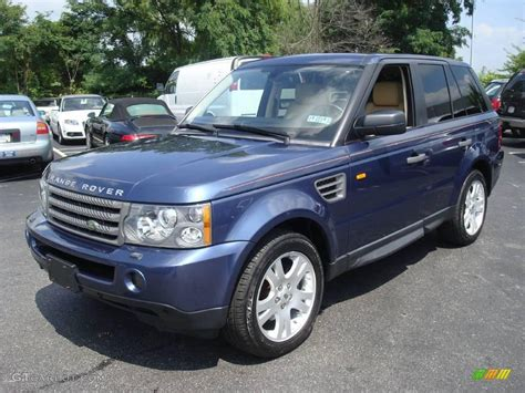 blue land rover 2006 cairns blue metallic land rover range rover sport hse