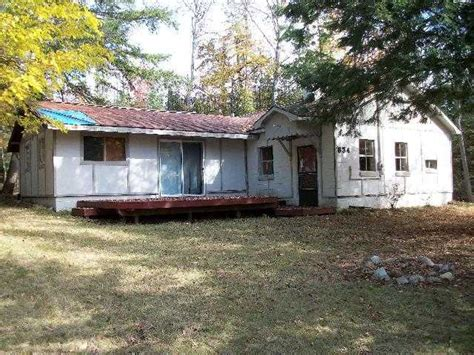 foreclosed cottages michigan 834 oak st hubbard lake michigan 49747 detailed property