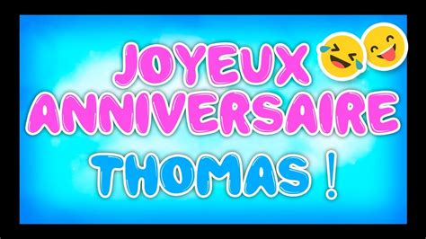 Youtube Humour Anniversaire