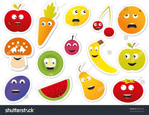 stickers vitres cuisine vector food stickers 89881558