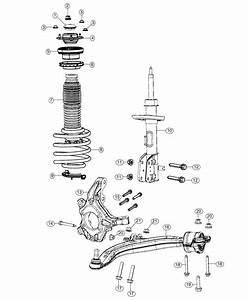 Chrysler Pacifica Mount  Strut   Front Suspension Damper