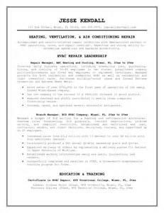 hvac maintenance resume sles 95 aircraft maintenance technician resume boeing