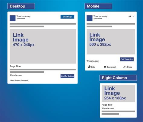 Link Image Size Infographic The Ultimate Image Size Sheet