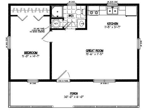 30 X 30 Home Floor Plans by X 22 Jet 22 X 30 House Floor Plan 30 X 40 Floor Plans
