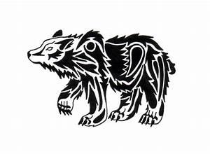 Tribal Bear Tattoo Pic | Tattooshunt.com