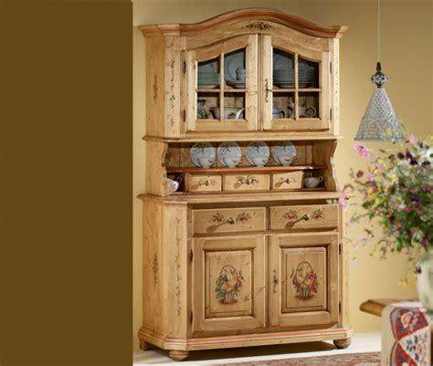 credenze tirolesi mobili decorati