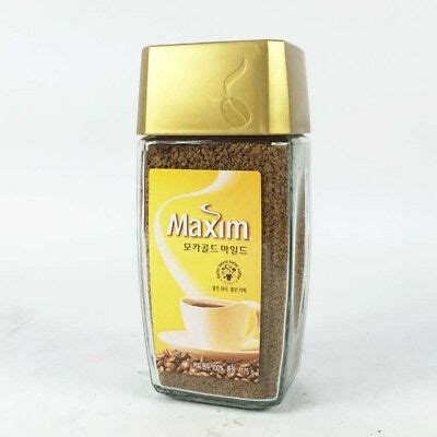 If you like my videos give me a comment if not please don't hate. Korea Coffee Maxim Mocha Gold Mild 175g (Bottle ...
