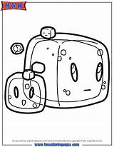 Minecraft Coloring Gelatinous Slime Cube Drawing Cubes Slimes Cool Sheets Cartoon Enderman Lima Doodles Doodle Hmcoloringpages Block sketch template