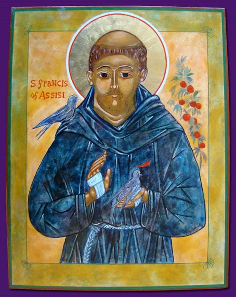 st francis of assisi icon icons st francis of assisi