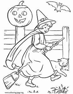 How to draw pretty witch