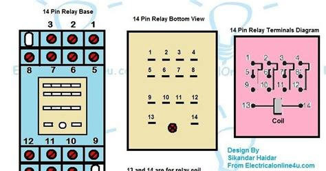 Pin Relay Wiring Diagram Finder