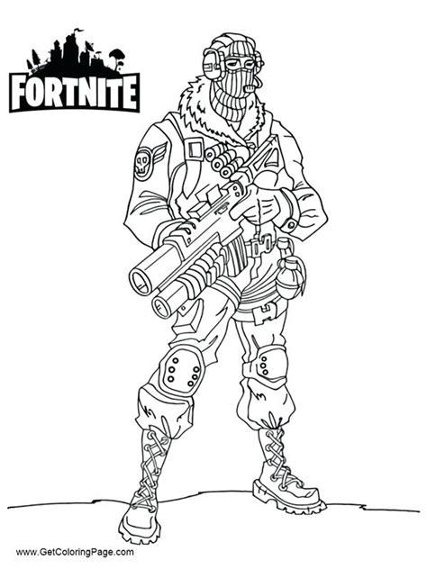 Fortnite Scar Coloring Page Super Fun Coloring