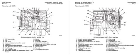 cummins signature isx qsx 15 cm 870 shop service manual repair troubleshooting ebay
