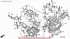 Honda Trx300ex Fourtrax 300ex 1994  R  Usa Cylinder Head