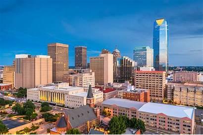 Oklahoma Hvac Skyline Summer Neighborhoods Commercial Cities