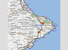 Denia and Costa Blanca Area Maps