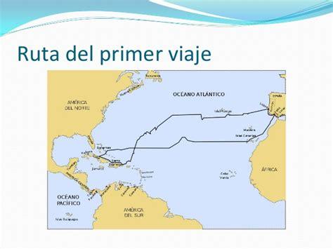 Rutas De Los Barcos De Cristobal Colon by Rutas De Col 243 N