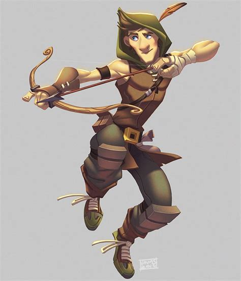 We asked the buzzfeed community which cartoon characters they thought were actually super hot, and. Robin Hood by Javas on deviantART   Character design ...