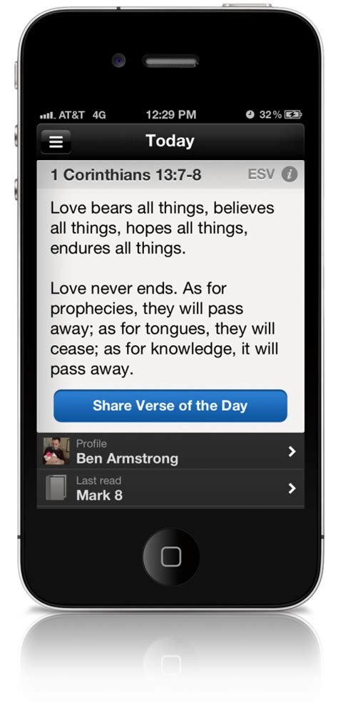 bible app for iphone updated bible app for iphone ipod touch adds new