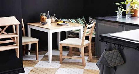 petites tables de cuisine en  modeles deco gain de place