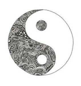 Cool Ying Yang Drawings