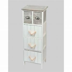 meuble bas de salle de bain newport blanc achat vente With meuble de rangement bas salle de bain