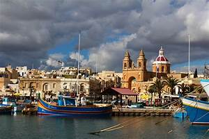 Valletta Malta Beautiful City With Baroque Architecture