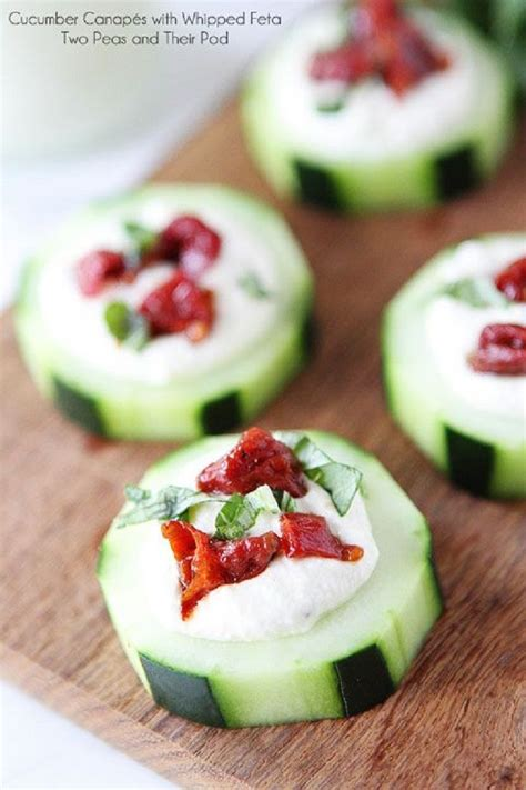 simple canapes easy appetizers things i want to cook