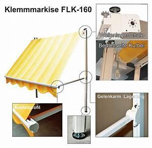 Balkon Markise Ohne Bohren : klemm markisen balkon wx44 hitoiro ~ Bigdaddyawards.com Haus und Dekorationen