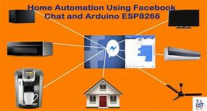 Home Automation Using Facebook Chat And Arduino Esp8266
