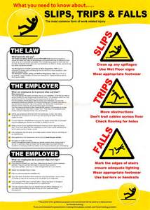 Safety Slips Trips and Falls