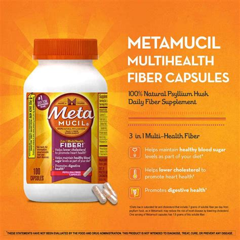 fiber in pill form metamucil daily fiber supplement psyllium