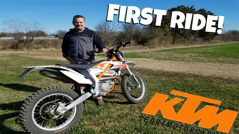 First Ride On 2017 Ktm Free Ride! Youtube