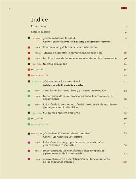 Español, matemáticas, ciencias naturales, ciencias sociales, los cuales podrá descargar. Ciencias Naturales Sexto grado 2016-2017 - Online - Libros de Texto Online