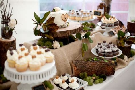 the most precious diy miniature wedding dessert bar