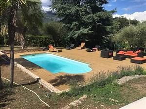 Bois Terrasse Piscine : terrasse piscine en bois autoclav le rouret alpes maritimes 06 ~ Melissatoandfro.com Idées de Décoration